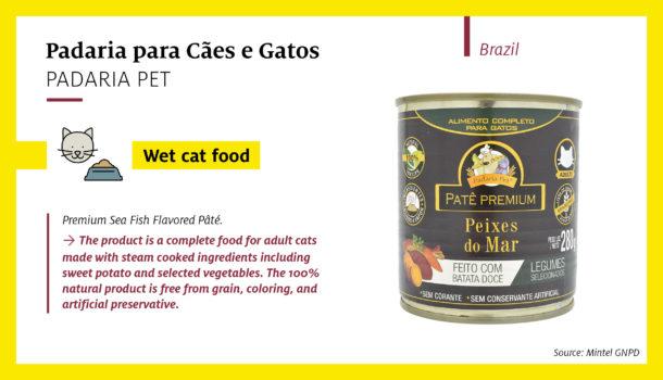 Padaria Pet Premium Sea Fish Flavored Pâté (Brazil)