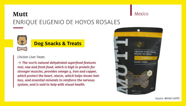 Mutt Chicken Liver Treats featuring real, raw and fresh food (Mexico)