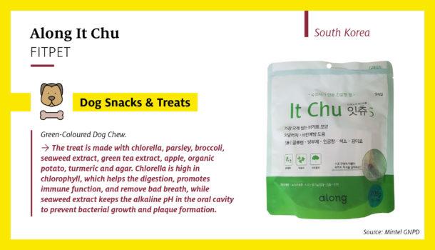 Along It Chu Green-Coloured Dog Chew (South Korea)