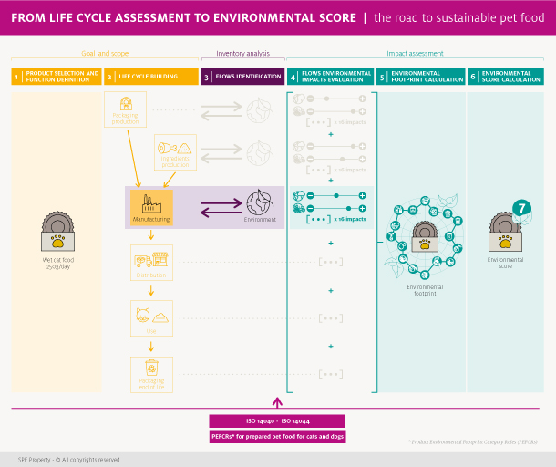 From Life Cycle Assessment to Environmental Score